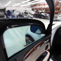 Blindagem de vidro automotivo